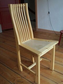 Prototype of the chair